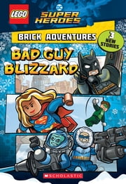 Bad Guy Blizzard (LEGO DC Comics Super Heroes: Brick Adventures) ebook by Liz Marsham