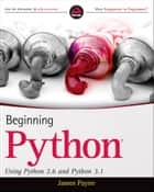 Beginning Python ebook by James Payne
