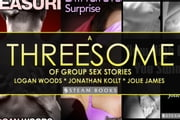 A Threesome of Group Sex Stories ebook by Logan Woods,Jonathan Kollt,Steam Books