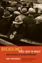 Breadlines Knee-Deep in Wheat - Food Assistance in the Great Depression ebook by Janet Poppendieck