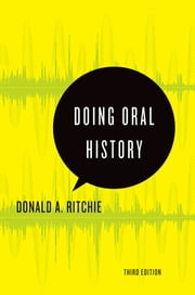 Doing Oral History ebook by Donald A. Ritchie
