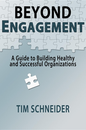 Beyond Engagement - A Guide to Building Healthy and Successful Organizations ebook by Tim Schneider