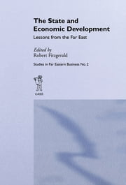 The State and Economic Development - Lessons from the Far East ebook by Robert Fitzgerald