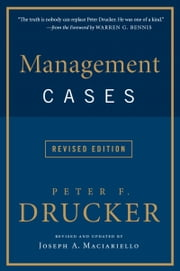 Management Cases ebook by Peter F. Drucker