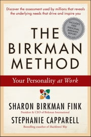 The Birkman Method - Your Personality at Work ebook by Sharon Birkman Fink,Stephanie Capparell
