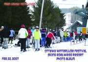Ottawa Winterlude Festival - Skiing Edelweiss Resort Photo Album - Feb 22, 2007 (English eBook C5) ebook by Vinette, Arnold D