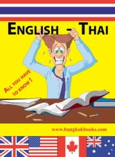 English-Thai - All you have to know! ebook by Georg Gensbichler