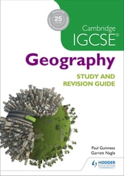 Cambridge IGCSE Geography Study and Revision Guide ebook by Helen Williams,David Watson