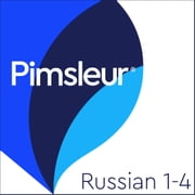 Pimsleur Russian Levels 1-4 MP3 - Learn to Speak and Understand Russian with Pimsleur Language Programs audiobook by Pimsleur