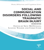 Social and Communication Disorders Following Traumatic Brain Injury ebook by