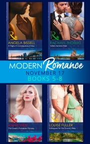 Modern Romance Collection: November 2017 Books 5 - 8 (Mills & Boon e-Book Collections) ekitaplar by Rachael Thomas, Annie West, Louise Fuller,...