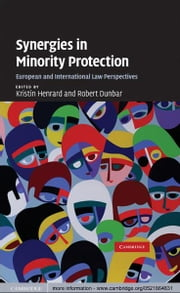 Synergies in Minority Protection - European and International Law Perspectives ebook by Kristin Henrard,Robert  Dunbar