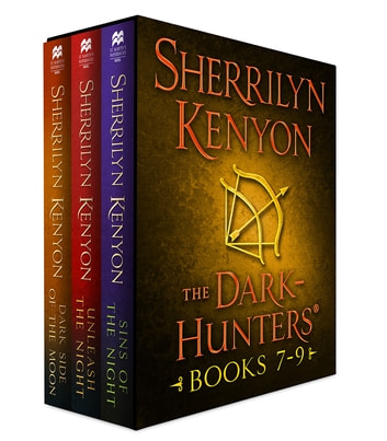 The Dark-Hunters, Books 7-9 - (Sins of the Night, Unleash the Night, Dark Side of the Moon) ebook by Sherrilyn Kenyon