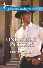 One Night in Texas e-bog by Linda Warren