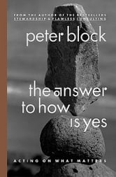 The Answer to How Is Yes - Acting on What Matters ebook by Peter Block