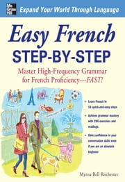 Easy French Step-by-Step ebook by Myrna Bell Rochester