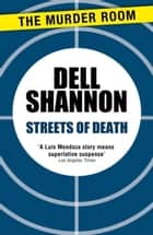 Streets of Death ebook by Dell Shannon