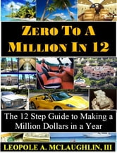 Zero to a Million in 12: The 12 Step Guide to Becoming a Millionaire in a Year