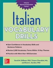 Italian Vocabulary Drills ebook by David Stillman,Tiziano Cherubini,Ronni Gordon