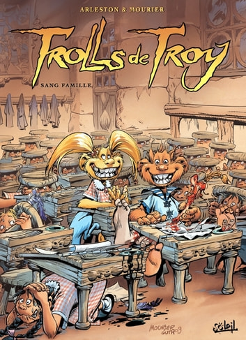 Trolls de Troy T12 - Sang famille eBook by Christophe Arleston,Jean-Louis Mourier,Claude Guth