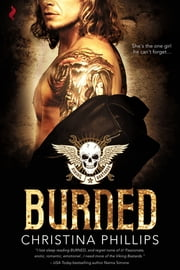 Burned ebook by Christina Phillips