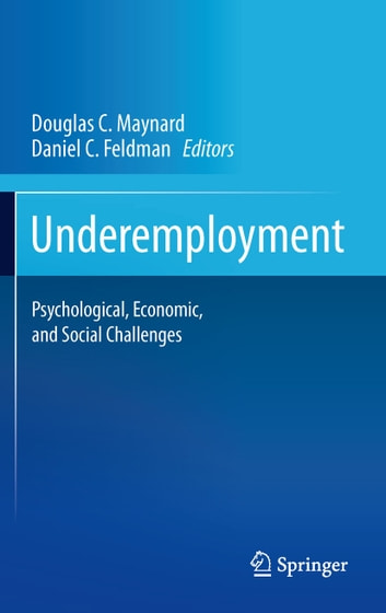 Underemployment - Psychological, Economic, and Social Challenges ebook by