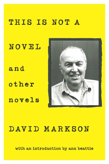 This is Not a Novel and Other Novels ebook by David Markson