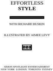 Effortless Style ebook by June Ambrose,Richard Buskin,Aimee Levy