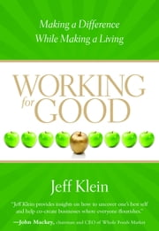 Working for Good - Making a Difference While Making a Living ebook by Jeff Klein