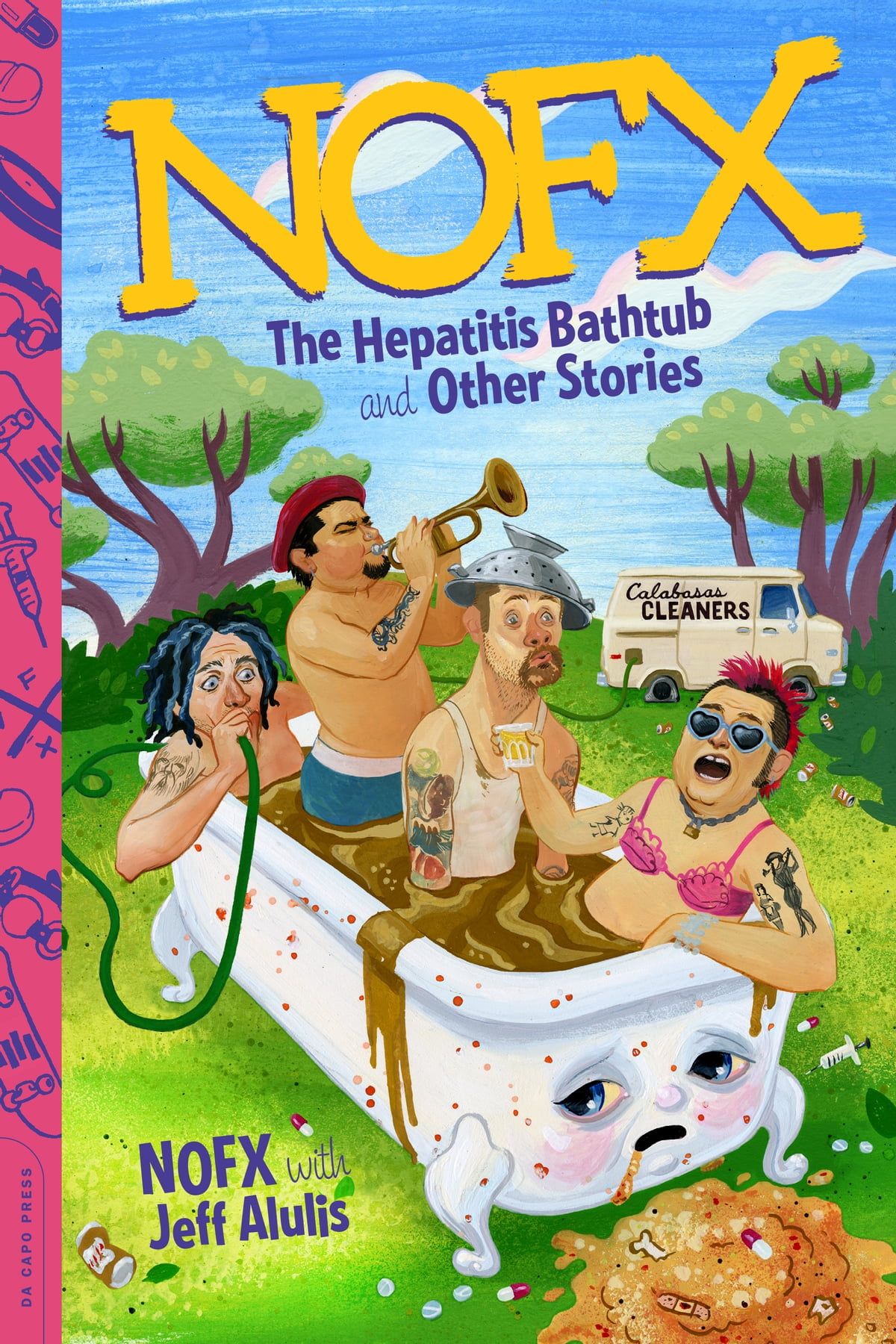 Nofx  The Hepatitis Bathtub And Other Stories Ebook By Nofx, Jeff Alulis