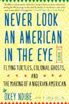 Never Look an American in the Eye - A Memoir of Flying Turtles, Colonial Ghosts, and the Making of a Nigerian Amiercan ebook by Okey Ndibe