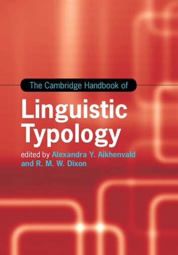 the cambridge handbook of linguistic typology ebook by
