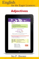 English for the Eager Learners: Adjectives ebook by Maria English Society