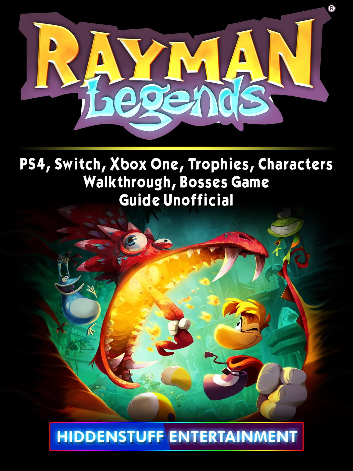 Rayman Legends Xbox One Switch English Pal Games Trophies Characters 900x1200