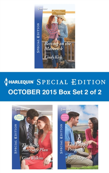 Harlequin Special Edition October 2015 - Box Set 2 of 2 - An Anthology ebook by Cindy Kirk,Gina Wilkins,Katie Meyer