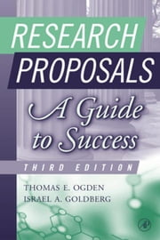 Research Proposals: A Guide to Success ebook by Ogden, Thomas E.