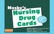 Mosby's Nursing Drug Cards ebook by Mosby