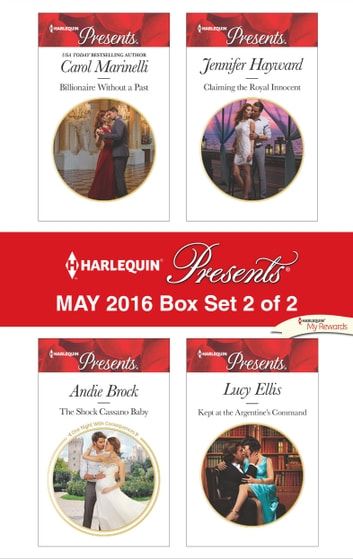 Harlequin Presents May 2016 - Box Set 2 of 2 - An Anthology ebook by Carol Marinelli,Andie Brock,Jennifer Hayward,Lucy Ellis