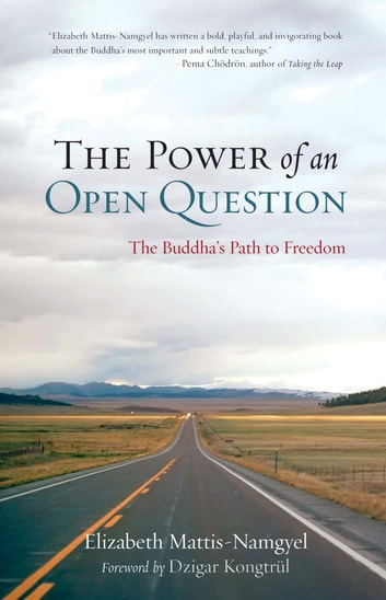 The Power of an Open Question - The Buddha's Path to Freedom ebook by Elizabeth Mattis Namgyel