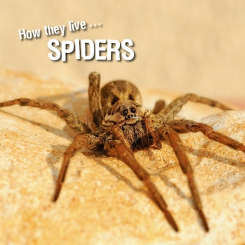 How they live... Spiders - Learn All There Is to Know About These Animals! ebook by David Withrington,Ivan Esenko