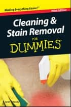 Cleaning and Stain Removal For Dummies, Mini Edition ebook by Janet Sobesky