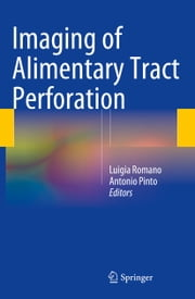 Imaging of Alimentary Tract Perforation ebook by Luigia Romano,Antonio Pinto