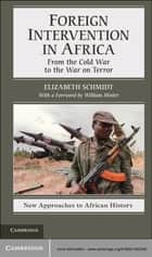 Foreign Intervention in Africa - From the Cold War to the War on Terror ebook by Elizabeth Schmidt