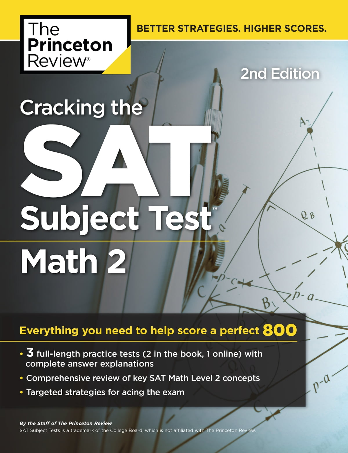 Cracking the SAT Subject Test in Math 2, 2nd Edition eBook by ...