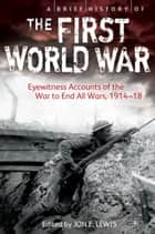 A Brief History of the First World War ebook by Jon E. Lewis