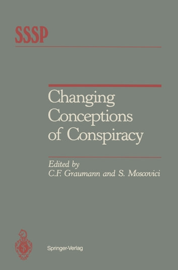 Changing Conceptions of Conspiracy ebook by