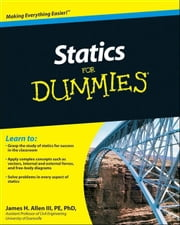 Statics For Dummies ebook by James H. Allen III