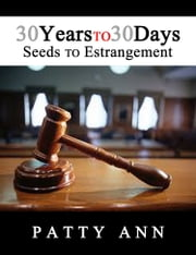 30 Years to 30 Days: Seeds to Estrangement ebook by Patty Ann