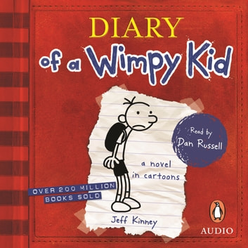 Diary of a Wimpy Kid (BK1) audiobook by Jeff Kinney
