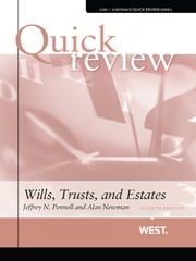 Quick Review of Wills, Trusts, and Estates, 4th ebook by Jeffrey Pennell,Alan Newman